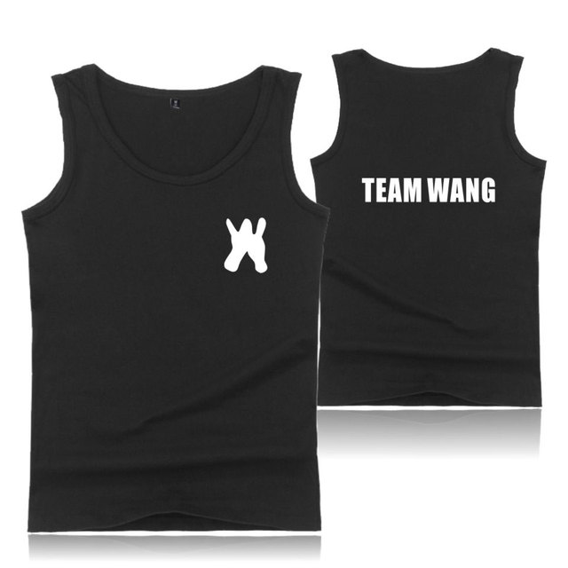 e4077347 US $8.25 32% OFF|GOT7 Jackson Wang TEAM WANG Tank Tops Men/Women Summer  Sleeveless Workout Printed Tank Top Casual Vest Clothes Plus Size XXS  4XL-in ...