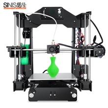 Upgraded Sinis Z1 Normal Version 3d Printer Option Laser Engraving High Precision Machine Reprap i3 3D Kit
