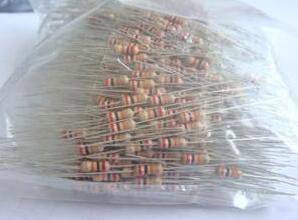 1/6W 5% 0.1-0.91R 0R 1R-10M Carbon Film Resistor X 1000PCS