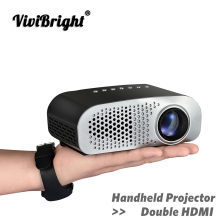 ViviBright мини светодиодный проектор Full HD 1080P видео проектор портативный 480*320 домашний кинотеатр ЖК-телевизор умный 3D кинопроектор