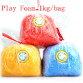Play Foam 1000g/bag Light Soft Colored magnetic Polymer Clay Modeling Clay Model Magic Air Dry slime Plasticine slime