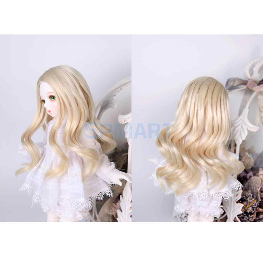 Dolls DIY Parts Dress-up Accessory Straight Wig Hair For 1//3 BJD SD Dollfie