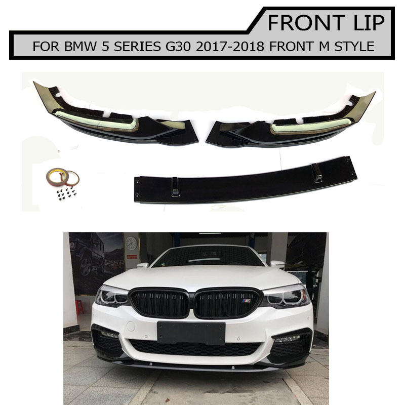 Piano paint Front Lip for bmw 5 series g30 g38 2017 2018