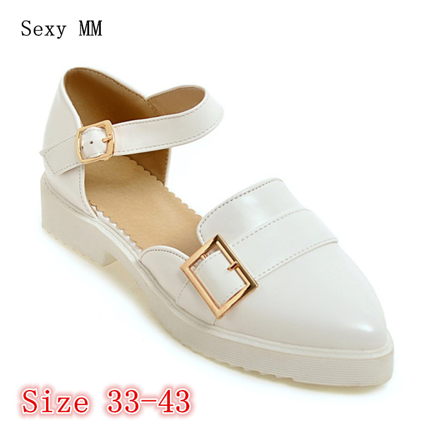 Slip On Shoes Loafers Girl D'orsay Flats Women Flat Shoes Soft Comfortable Shoes Woman Plus Size 33 - 40 41 42 43 tangnest women flats 2017 summer style casual pointed toe slip on flat shoes soft comfortable shoes woman plus size 35 40 xwc267