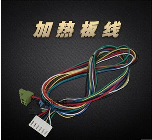 3 D printer accessory cable/line Creator for heating plate panel top quality free shipping