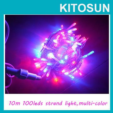 MULTICOLOUR 10M 100 super bright LED String Lights good for wedding decoration ...