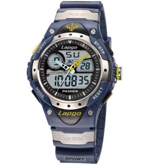100 Meters Waterproof Top Fashion Brand Luxury Military Dive Quartz Watch Men Women Hiking Sports Digital LED Wrist Watch 8O76