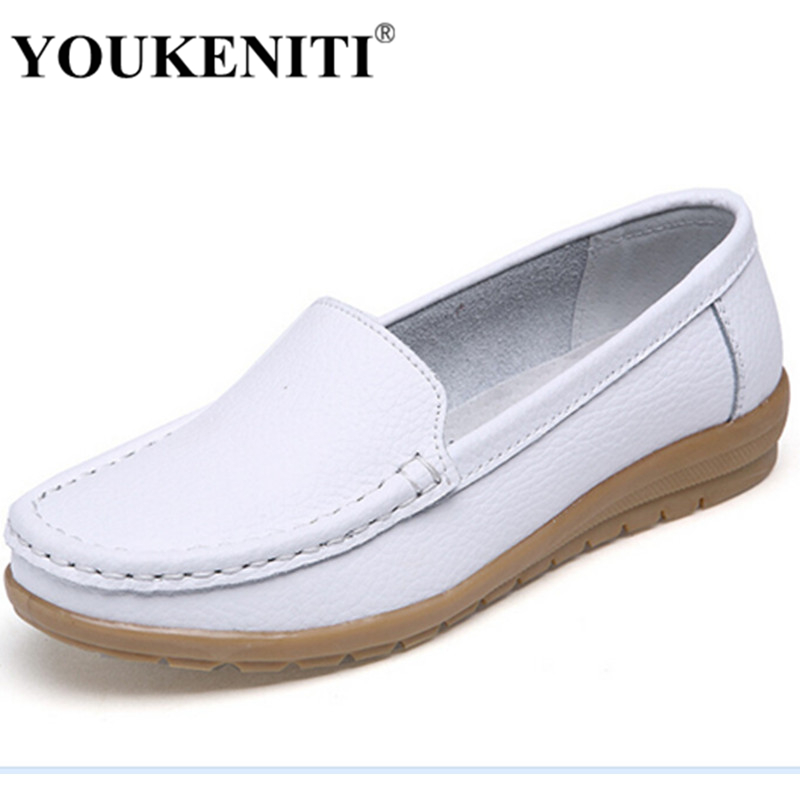 2017 Brand Oxfords Leisure Round Toe Flat Shoes With Soft Sole Breathable Women Casual Shoes 4 Colors Loafers Shoes JJA-69 women breathable leisure cloth shoes durable lightweight comfortable soft walking mixed color flat heel shoe rubber sole canvas
