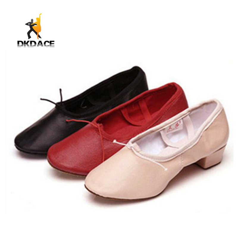 Aliexpress.com : Buy Free Shipping Leather Practice Dance ... |Practice Ballet Shoes