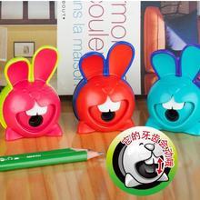 [4y4a] Большой Кролик Точилка для карандашей креативные милые ручной поворотный точилка для карандашей студент точилка для карандашей