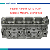 F8Q 610/714/722/724/764/768/774/776 cabeça do cilindro do motor 908048 para Renault 1.9L 19 II Clio Megane Scenic 21 Express 7701468014|engine cylinder head|cylinder head|engine head -