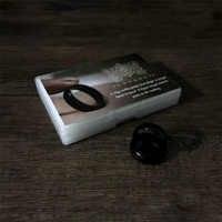 Odyssey Ring Zaubertricks Magier Ring Transfer Springt Von Finger zu Finger Magia Close Up Straße Illusions Gimmick Mentalismus