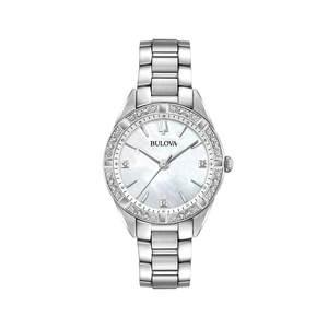 Наручные часы Bulova 96R228 женские кварцевые на браслете