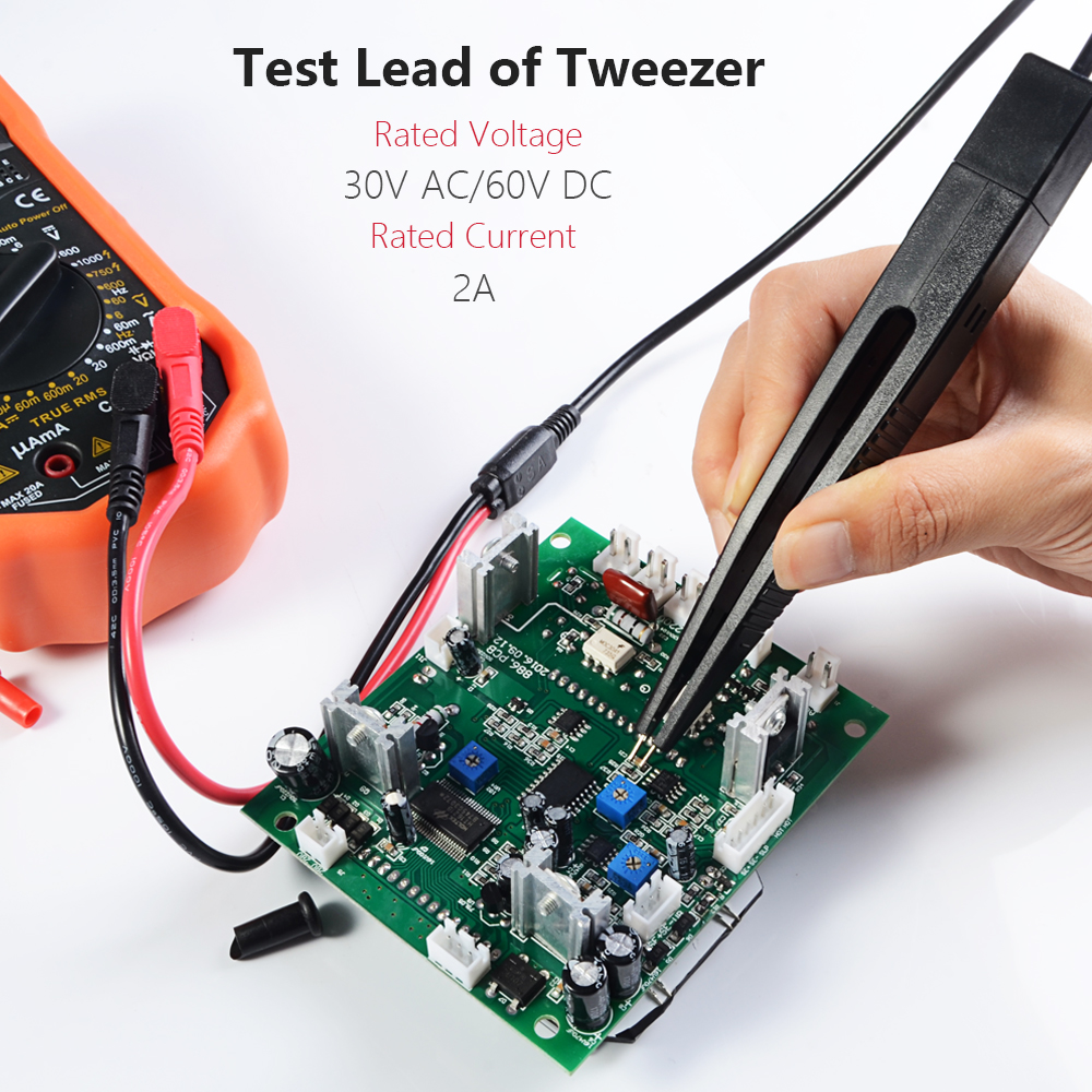 Electrical Multimeter Test Leads Set With Alligator Clips Hook Electronics Circuit For A Series Including Voltmeter Probes Lead Professional Kit 1000v 10a Catii In Connectors From Lights Lighting