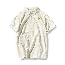 Men Polo New Fashion Brand Men Polo shirt Solid Color Short-Sleeve Loose Shirt Men Cotton polo Shirts Casual Camisa Polo