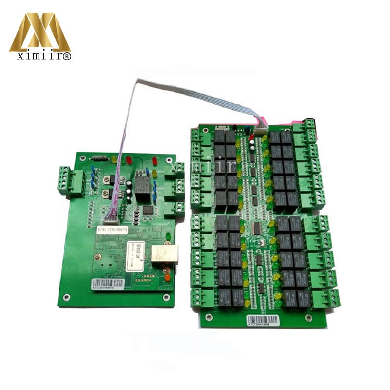 Good Quality TCP/IP 20 Floors Biometric Fingerprint And Rfid Elevator Access Control Board Lift Controller System free shipping biometric fingerprint time clock tcp ip fingerprint access control system xm28 with rfid and mf reader