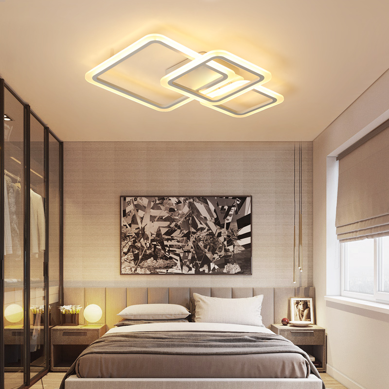 New Modern AC85~265V Home decoration lighting fixtures Led Ceiling Lights For Living Room Bedroom Ceiling Lamp lamparas de techo 120cm 100cm modern ceiling lights led lights for home lighting lustre lamparas de techo plafon lamp ac85 260v lampadari luz