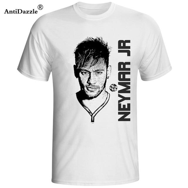best website 51ed3 34b7b 2018 neymar jr T shirt camisa barcelona futbol njr Jersey Men Neymar da  Silva Santos Junior T Shirts brazil neymar fans Teeshirt-in T-Shirts from  ...
