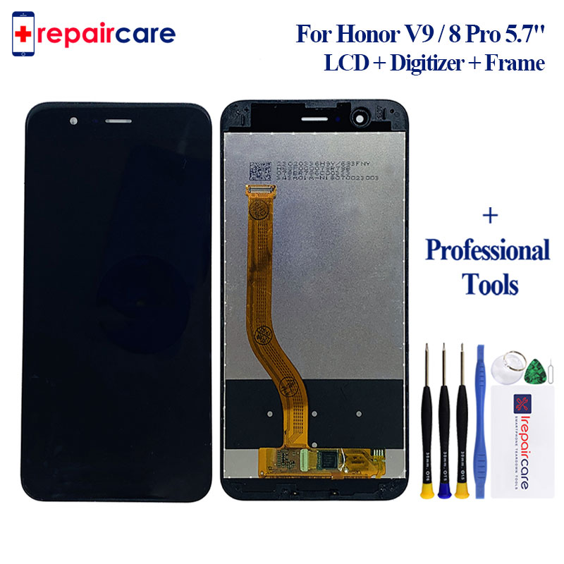 Für Huawei <font><b>Honor</b></font> <font><b>8</b></font> Pro/<font><b>Honor</b></font> V9 DUK-L09 DUK-AL20 5,7 ''<font><b>LCD</b></font> <font><b>Display</b></font> Mit Touch Screen Touch Panel Digitizer montage image