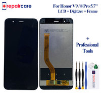 For Huawei Honor 8 Pro/ Honor V9 DUK L09 DUK AL20 5.7'' LCD Display With Touch Screen Touch Panel Digitizer Assembly