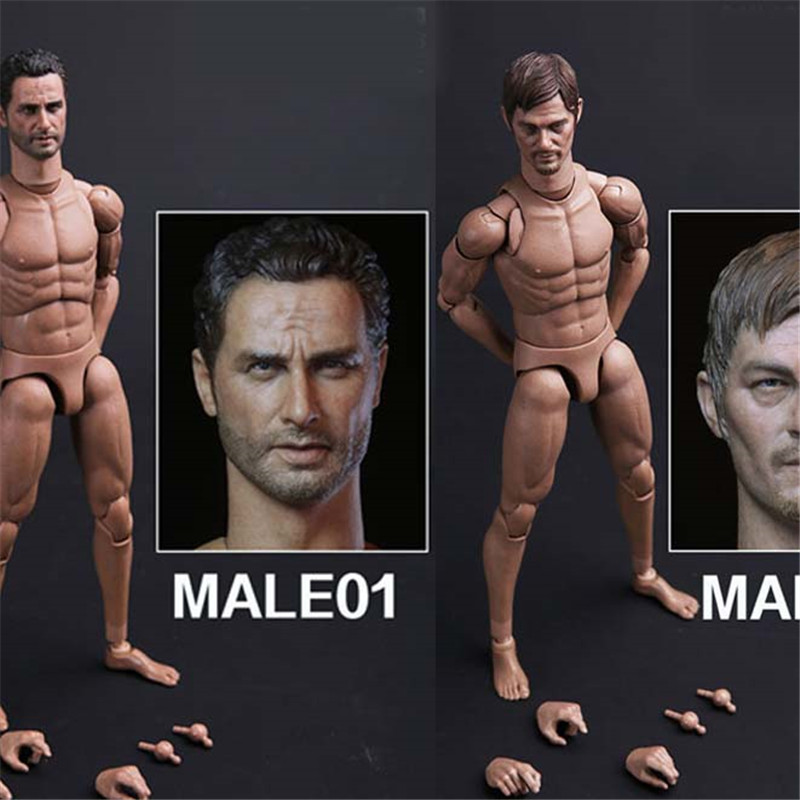 Mnotht 1/6 SCALE DAM ACTION 2.0 NARROW SHOULDERS BODY----NO.MALE01 Action Figures Toys Collection l30