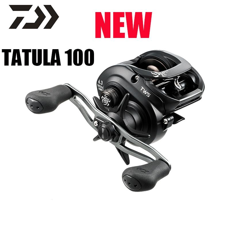 NEW 2019 DAIWA TATULA 100HL 6.3:1 LEFT HAND BAITCAST FISHING REEL TTU100HL