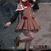 Anime VOCALOID Luo Tianyi Vsinger North and South Sherlock Holmes Night Cosplay Costume Lolita Cos Retro Dress H