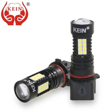 цена на KEIN 2pcs P13W led Car Fog lamp 3030 36smd High Power LED Fog Bulbs external DRL Daytime Running driving Light vehicle white 12V