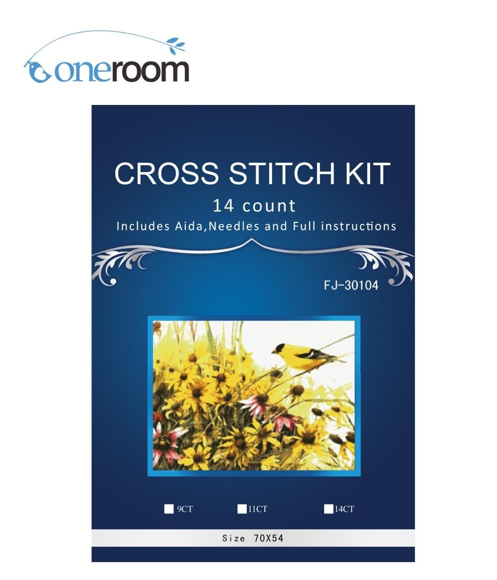 Romantic Top Quality Beautiful Lovely Counted Cross Stitch Kit Similar Dim Cross Stitch Similar Dmc Similar Dim Bird Dw-3007 Arts,crafts & Sewing Home & Garden