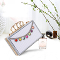Custom Made Fashion Mini Evening Bag Women Luxury Rhinestone Pearl Wedding Handbag Bride Dinner Bag Girl Party Top Shinny Bags
