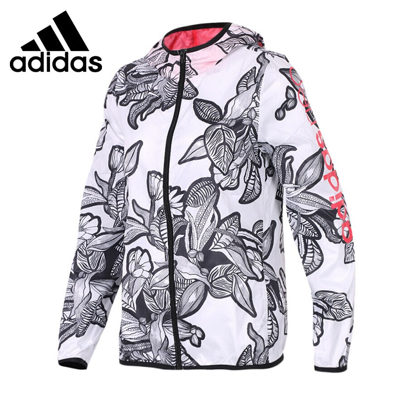 Original New Arrival 2018 Adidas NEO Label W Illust WB Women's jacket Hooded Sportswear original new arrival 2018 adidas neo label w wb clr blck women s jacket hooded sportswear
