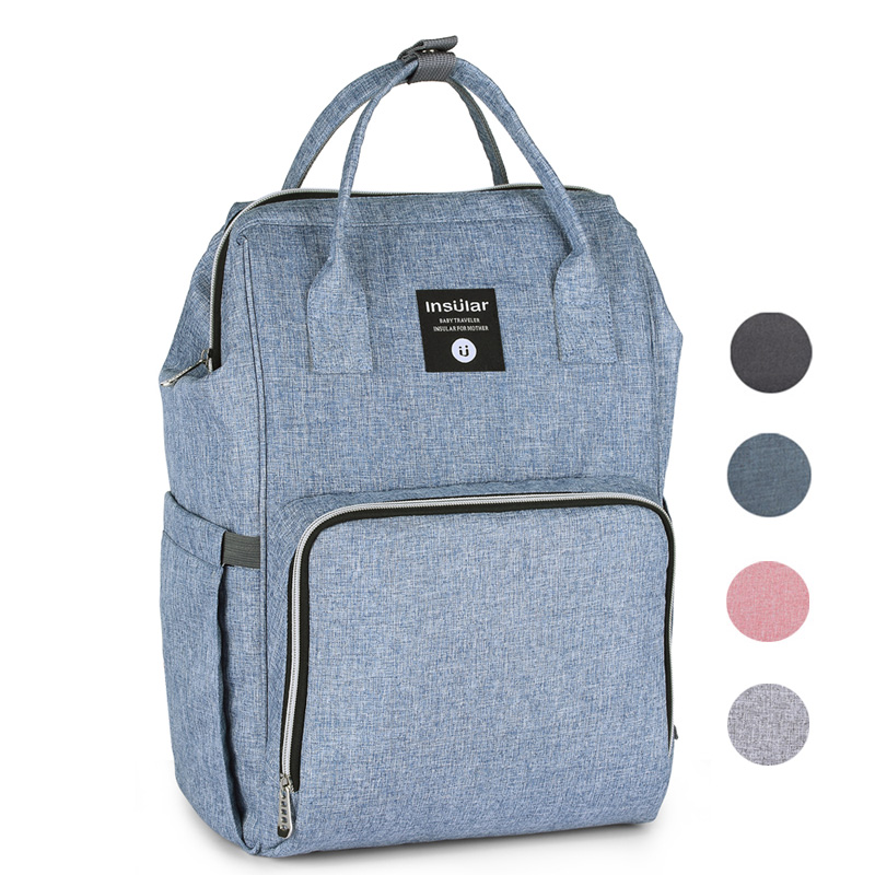 Diaper Bag Backpack For Moms Waterproof Stroller Baby Bag Large Capacity Maternity Bag Travel Mommy Nappy Bags For Baby Care