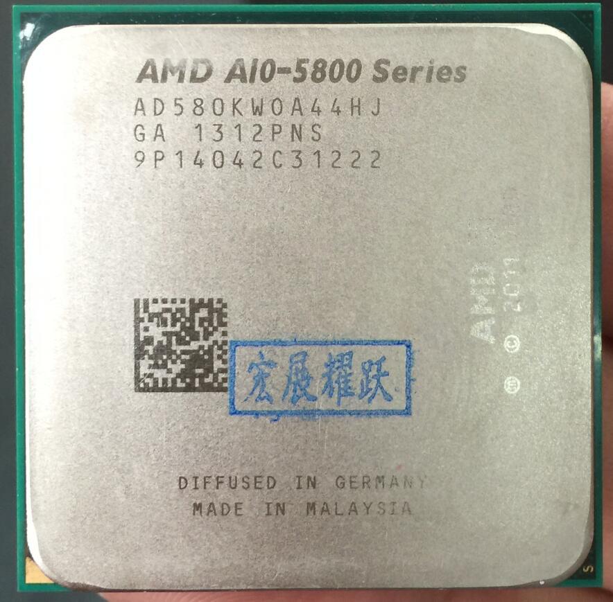 AMD PC Computer CPU GPU VideA-Series APU X4  A10-5800K  A10 5800K  FM2 Quad-Core CPU  100% Working Properly Desktop Processor