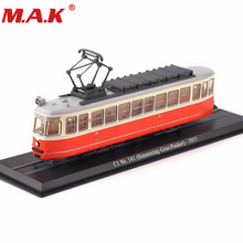 Kid toys 1/87 model C1 Nr.141 (Simmering-Graz-Pauker)-1957 Atlas tram vehicle car No. 11 swiss for fans collection gifts