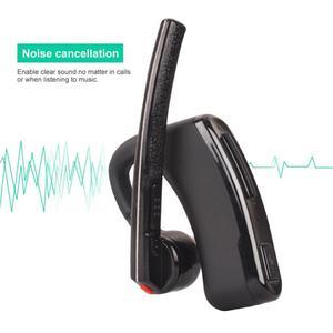 Image 5 - Senza fili Walkie Talkie Auricolare PTT Auricolare Bluetooth con Il Mic Adattatore 2 way Radio M Tipo di cuffia Senza Fili per la Radio Motorola