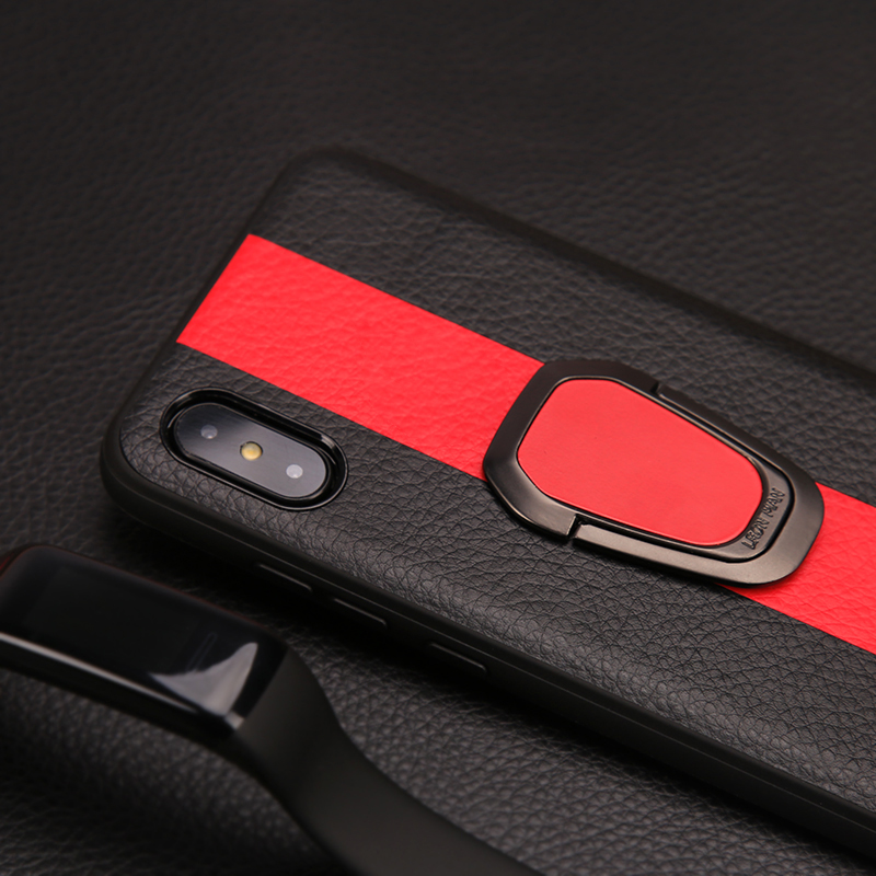 Luxury Car Design Phone Case For iPhone X XS Max XR 6 6S 7 8 Plus Fashion Rotating Bracket Ring Apple Fundas Capas in Fitted Cases from Cellphones Telecommunications