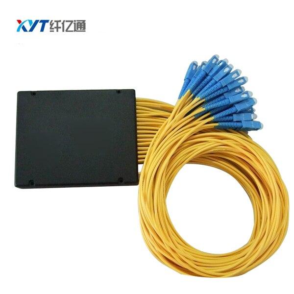 FTTH OLT SC UPC connecteur 1x32 ABS boîte PLC séparateur optique longueur de la Fiber 1.5 m 3.0mm diamètre du câble