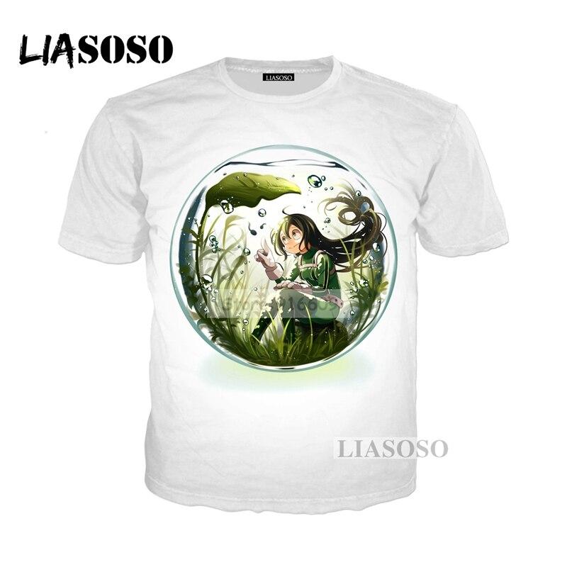 LIASOSO NEW Anime Boku No Hero My Hero Academia Cosplay Tees 3D Print t shirt/Hoodie/Sweatshirt Unisex Good Quality Tops G773
