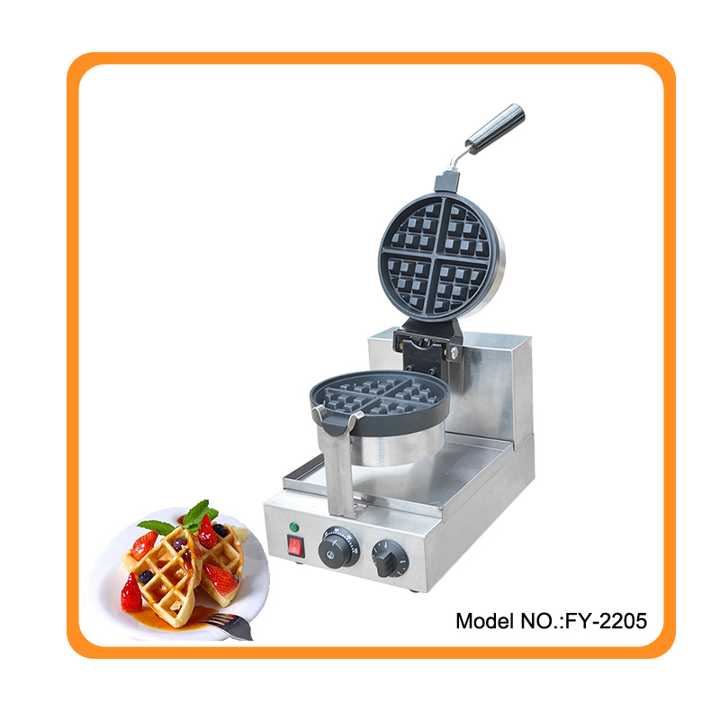 цены Free shipping Popular Commercial Rotating Waffle Maker Industrial Electric Best Waffle Maker Machine Waffle Mcmuffins Machine