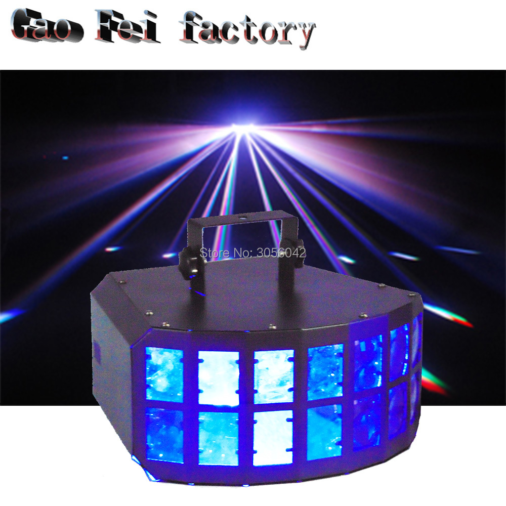 Night Club 4in1 LED 30W Mini Double Butterfly Effect Decoration Ktv Dj Lights