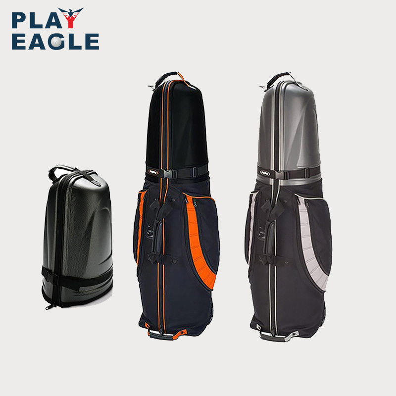 Travel-Cover-Bag Wheels Golf-Aviation-Bag Protable Bottom And With 1pcs Hard-Top Folding