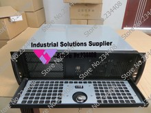 3u Industrial control Server chassis Front panel lock 12 Thickened 380 Short case PC power PC motherboard