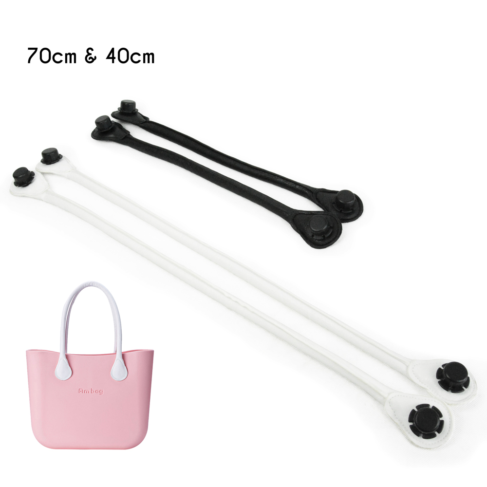 New Obag long short Soft PU Faux Leather Handles quality improved Handbag O bag OCHIC Handles