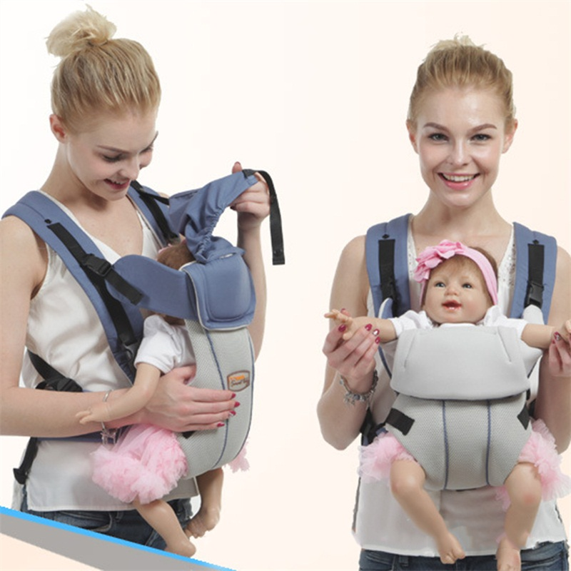 Cotton Baby Portable Carrier Infant Sling Backpacks Hipseat Toddler Children Front Facing Multifunctional Sling Ecnomic Carrier baby hipseat four seasons breathable baby shoulder carrier cotton baby carrier infant backpack for kids toddler sling md bd08