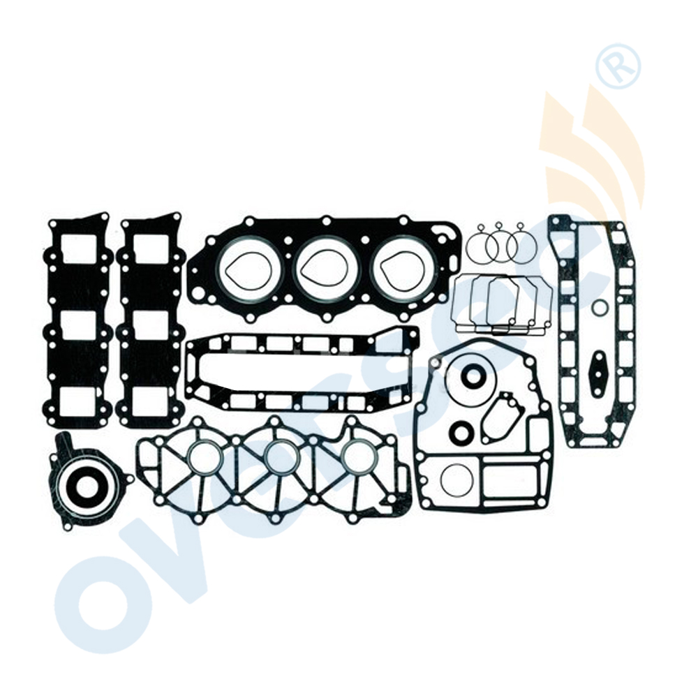 6H4-W0001-01 Powerhead Gasket Kit Replaces For Yamaha Outboard Engine 3 Cylinder