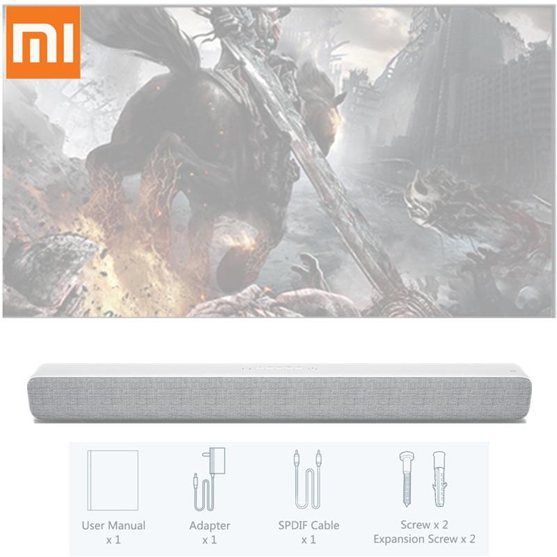 Original Xiaomi Speaker TV Sound Bar Wireless Bluetooth Speaker Blutooth Soundbar Support Optical SPDIF AUX In For Home Theatre цена 2017