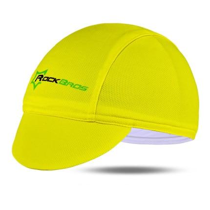 ROCKBROS Мужская велосипедная Кепка для горного велосипеда, велосипедная командная Кепка, дышащие спортивные солнцезащитные кепки для активного отдыха, 7 цветов - Цвет: Yellow