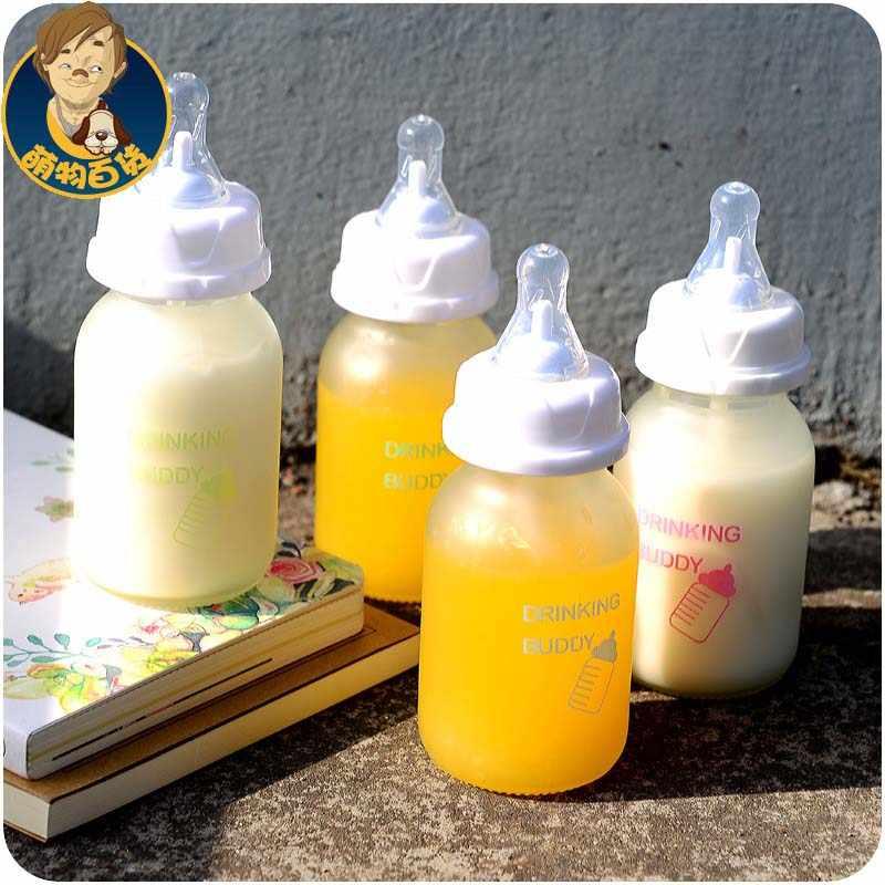 Детская Бутылочка мамадеирас 0-18 месяцев маленькая стеклянная бутылка 150 мл PP уход за кормящей Фидер для кормления Молоко Фруктовый сок 2017 специальное предложение