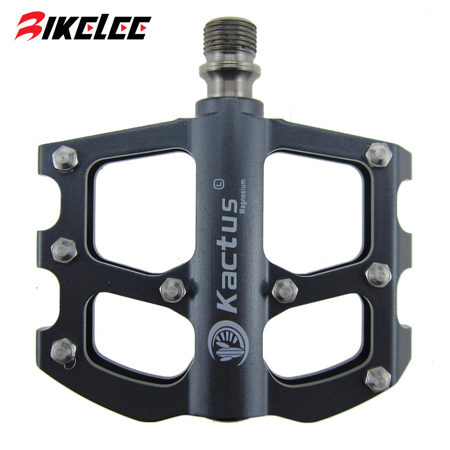 2017 Road Mountain Pedal Titanium Ultralight 100g Bike Pedals Magnesium Titanium Pedal Kactus Professional Bicycle Bike Pedals rockbros titanium ti mtb road bike bicycle pedals pedal spindle wellgo mg1 mg 1 mg 1