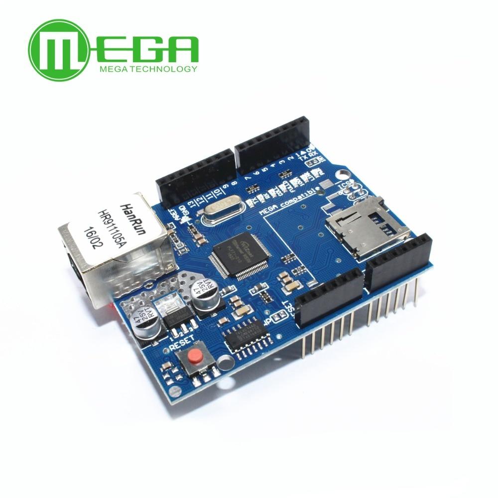 10pcs lot Shield Ethernet Shield W5100 Development board For arduino